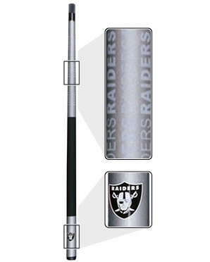 Oakland Raiders Eliminator Pool Cue