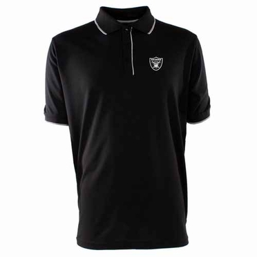 Oakland Raiders Mens Elite Polo Shirt (Team Color: Black)