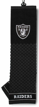 Oakland Raiders Embroidered Golf Towel