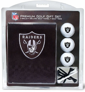 Oakland Raiders Embroidered Towel Gift Set