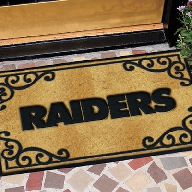 Oakland Raiders Exterior Door Mat