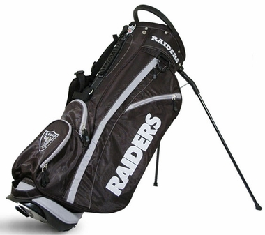 Oakland Raiders Fairway Stand Bag