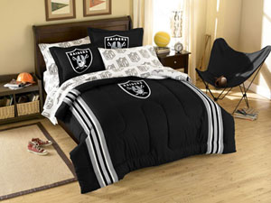 Oakland Raiders Full Bed in a Bag