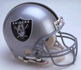 Oakland Raiders Full Sized Replica Helmet