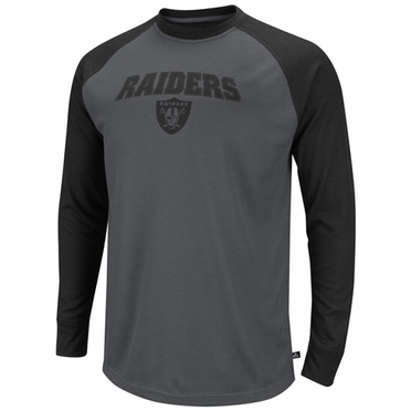 Oakland Raiders Go Long II L/S Thermal Shirt