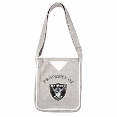 Oakland Raiders Hoodie Crossbody Bag