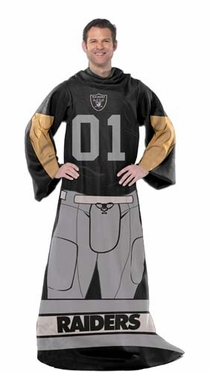 Oakland Raiders Huddler Wrap (Uniform)