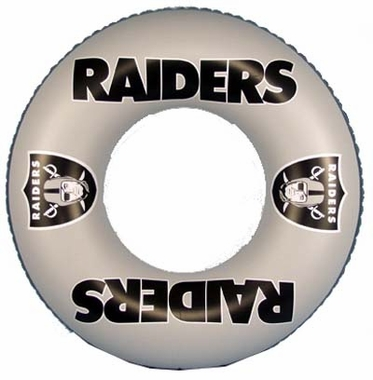 Oakland Raiders Inflatable Inner Tube
