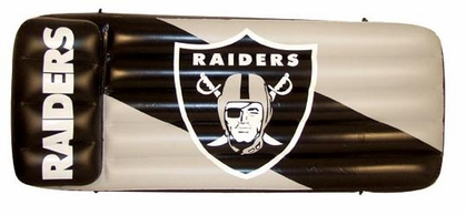Oakland Raiders Inflatable Raft