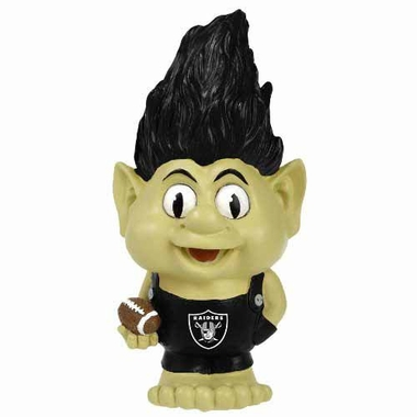 Oakland Raiders Large Troll Figurine