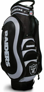 Oakland Raiders Medalist Cart Bag