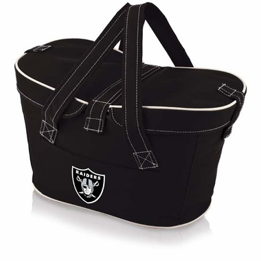 Oakland Raiders Mercado Picnic Basket (Black)
