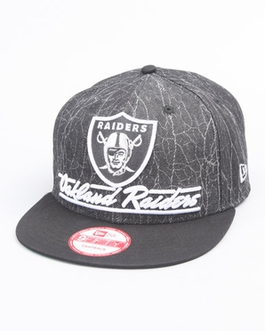 Oakland Raiders New Era 9FIFTY Lightning Strike Snapback Hat
