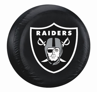Oakland Raiders Tire Cover (Large Size)