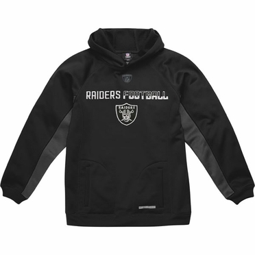 Oakland Raiders NFL YOUTH Endurance Performance Pullover Hooded Sweatshirt