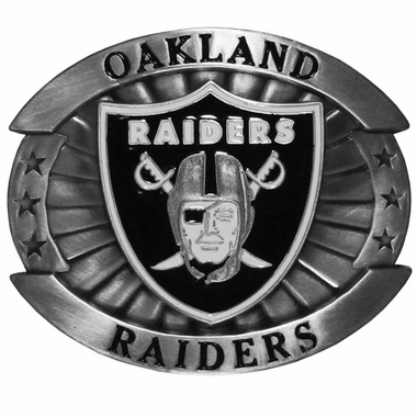 Oakland Raiders Oversized Belt Buckle