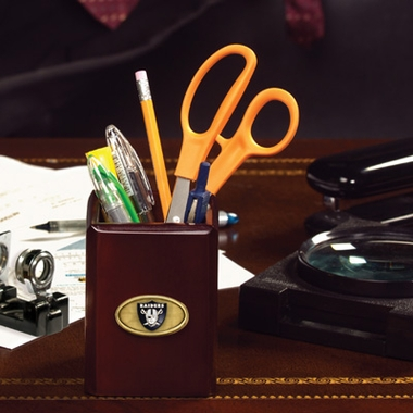 Oakland Raiders Pencil Holder
