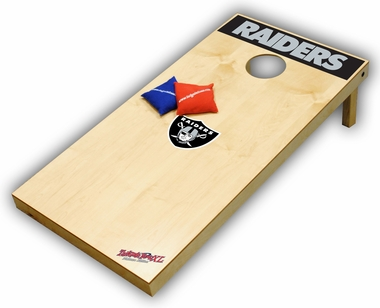 Oakland Raiders Regulation Size (XL) Tailgate Toss Beanbag Game