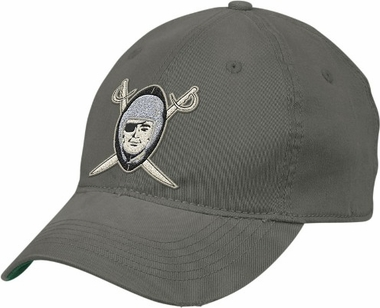 Oakland Raiders Retro Sport Throwback Flex Slouch Hat