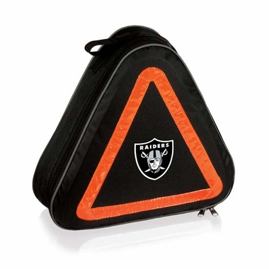 Oakland Raiders Roadside Emergency Kit (Black)