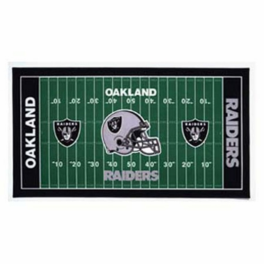Oakland Raiders Runner Mat