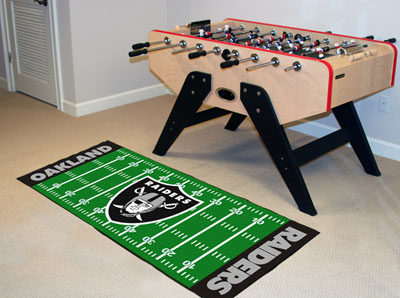 Oakland Raiders Runner Rug