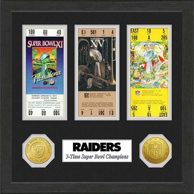 Oakland Raiders Oakland Raiders SB Championship Ticket Collection