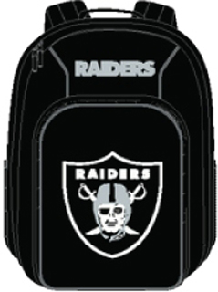 Oakland Raiders Southpaw Youth Backpack