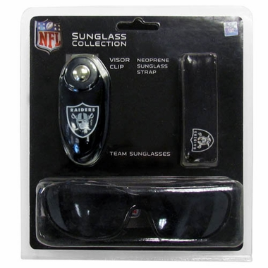 Oakland Raiders Sunglass Tri-Pack (F)