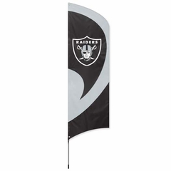 Oakland Raiders Tall Team Flag