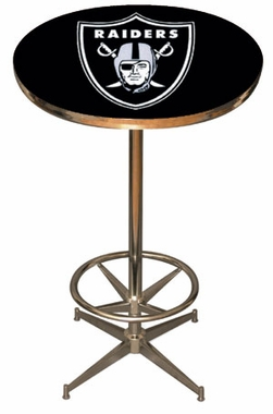 Oakland Raiders Team Pub Table