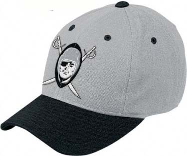 Oakland Raiders Throwback Logo Adjustable Hat