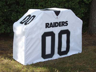 Oakland Raiders Uniform Grill Cover