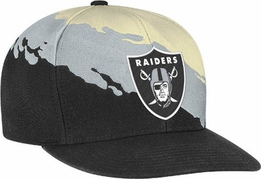 Oakland Raiders Vintage Paintbrush Snap Back Hat