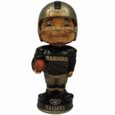 Oakland Raiders Vintage Retro Bobble Head