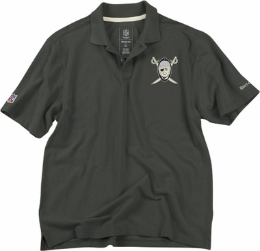 Oakland Raiders Vintage Retro Polo Shirt