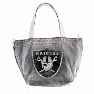 Oakland Raiders Vintage Tote (Black)