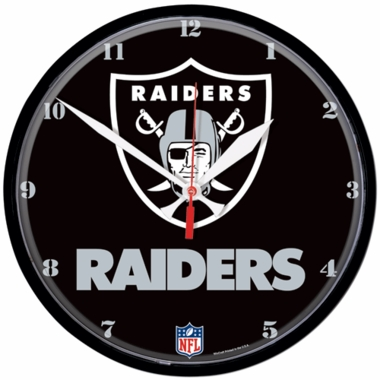 Oakland Raiders Wall Clock