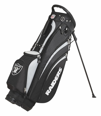 Oakland Raiders Wilson Golf Carry Bag