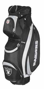 Oakland Raiders Wilson Golf Cart Bag
