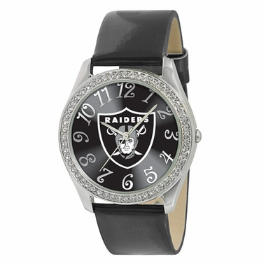 Oakland Raiders Women's Glitz Watch