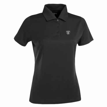 Oakland Raiders Womens Exceed Polo (Team Color: Black)