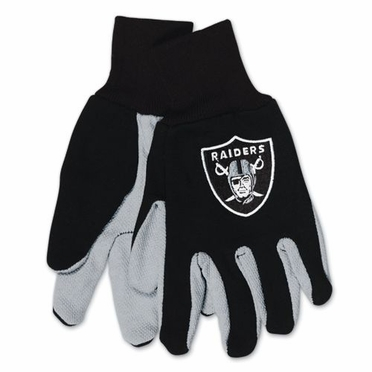 Oakland Raiders Work Gloves (Adult)