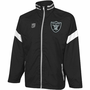 Oakland Raiders YOUTH Goal Post Lightweight Full Zip Jacket