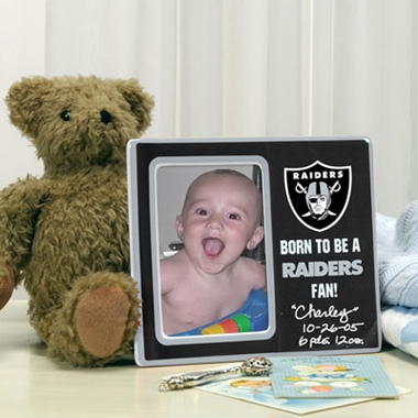 Oakland Raiders Youth Picture Frame