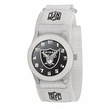 Oakland Raiders Youth Rookie Watch (White)