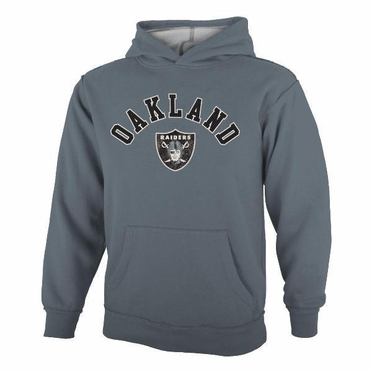 Oakland Raiders YOUTH Vintage Garment Washed Hoody