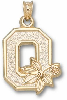 Ohio State 10K Gold Pendant