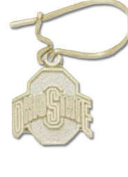 Ohio State 14K Gold Post or Dangle Earrings