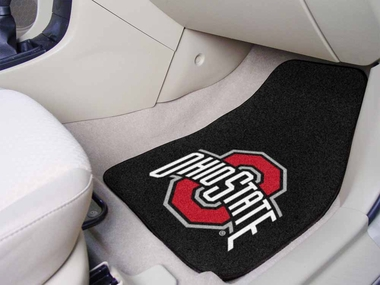 Ohio State 2 Piece Car Mats